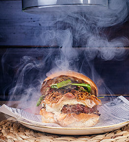 Burger Smoked